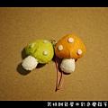 006彩色磨菇手機吊飾