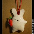 014百年雙兔吊飾