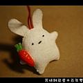 015百年雙兔吊飾