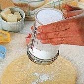 日本CakeLand 細網刻度糖篩罐
