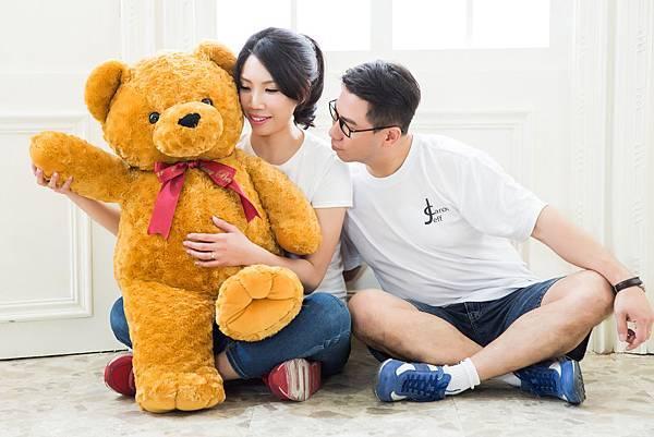 婚紗照熊熊與我們