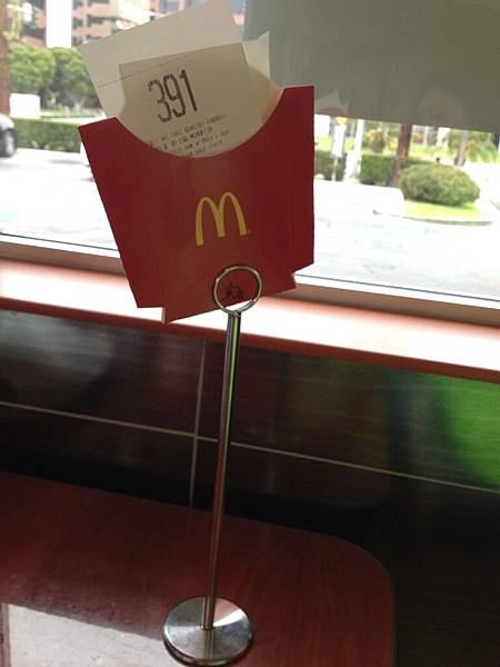 飯店旁的麥當勞吃早餐