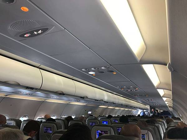 飛機位置很寬敞