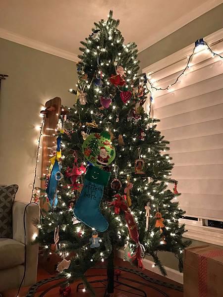 家裡的聖誕佈置