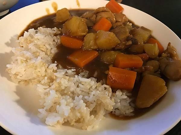 白米+糙米~好吃
