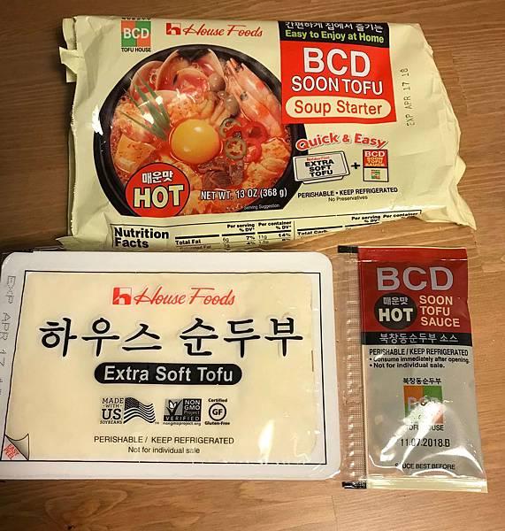 晚餐_BCD豆腐湯