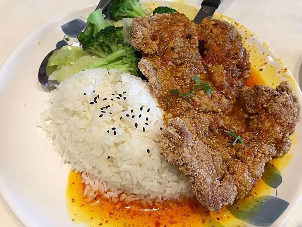 午餐_椒麻雞飯!?
