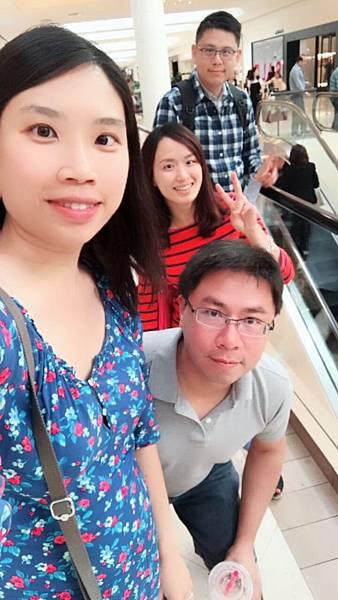 國慶日與好友碰面吃飯