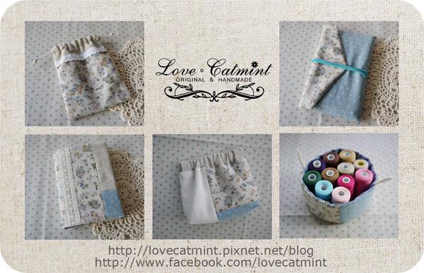 Catmint愛手作。手縫布小物
