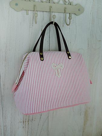004712EABA6D40-粉紅樂園手提包-3