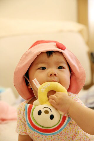 016013EECA0A44-Cute Baby 花邊帽