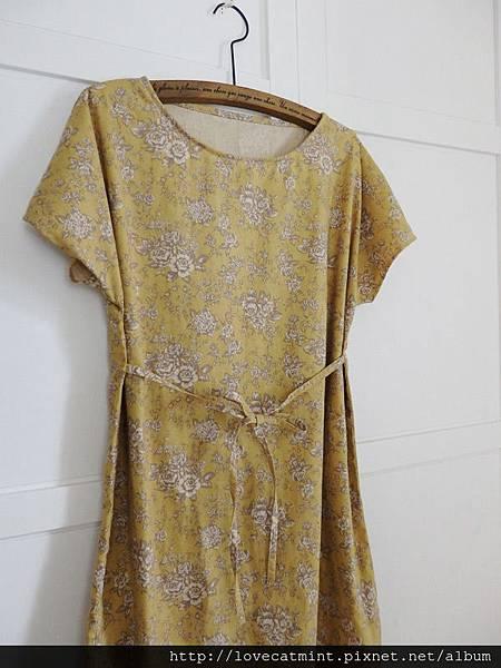 0313-優雅繫帶罩衫