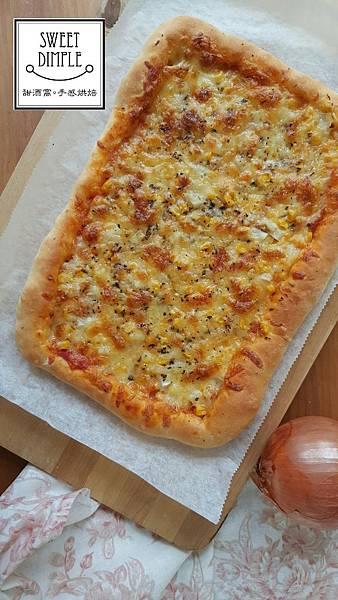 鮪魚洋蔥玉米比薩