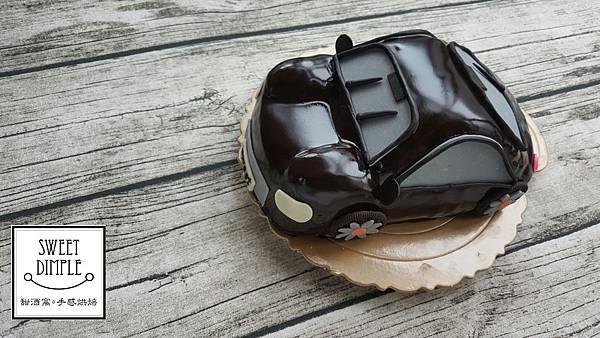 噗噗小汽車蛋糕