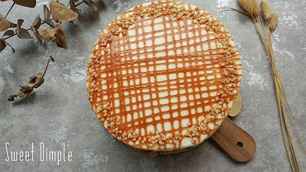 海鹽焦糖鮮奶油蛋糕