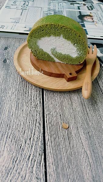 抹茶蛋糕捲