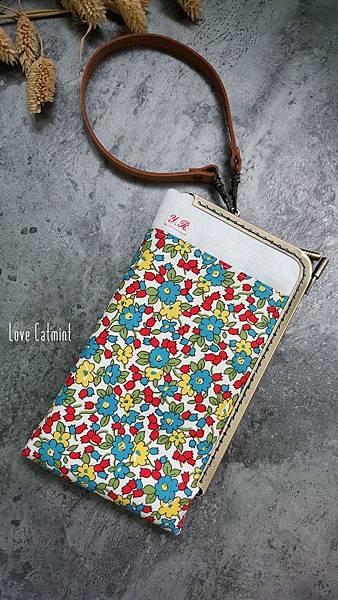 花園口金手機袋