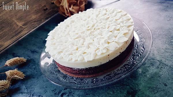 椰香焦糖巧克力蛋糕