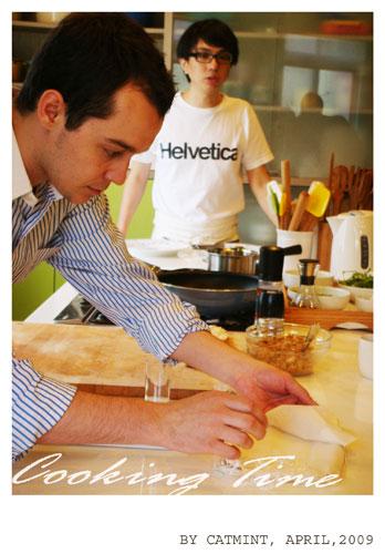 來自法國的Vergé Fabien(費比昂)廚師