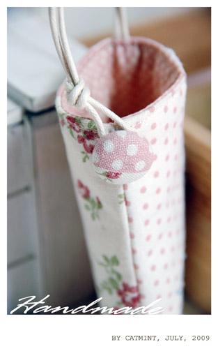 溫柔風粉紅手機袋