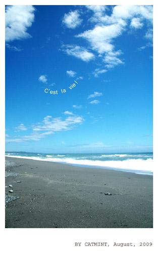 海是多麼的美