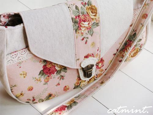 浪漫玫瑰斜揹包