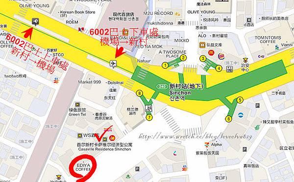 公車站map