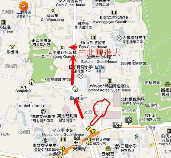 北村八景map1