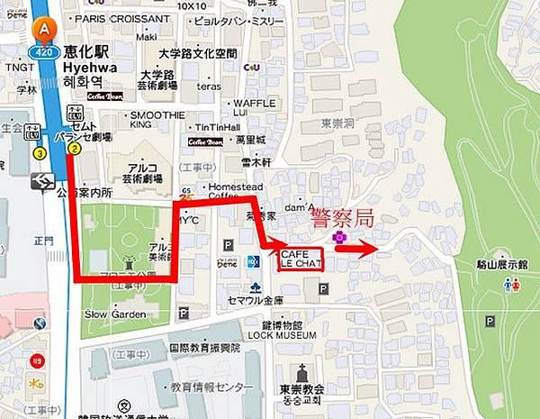駱山公園map