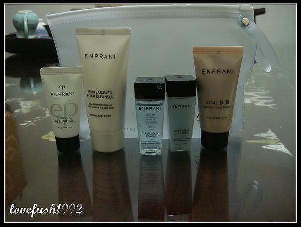 ENPRANI臉部清潔保養旅行組