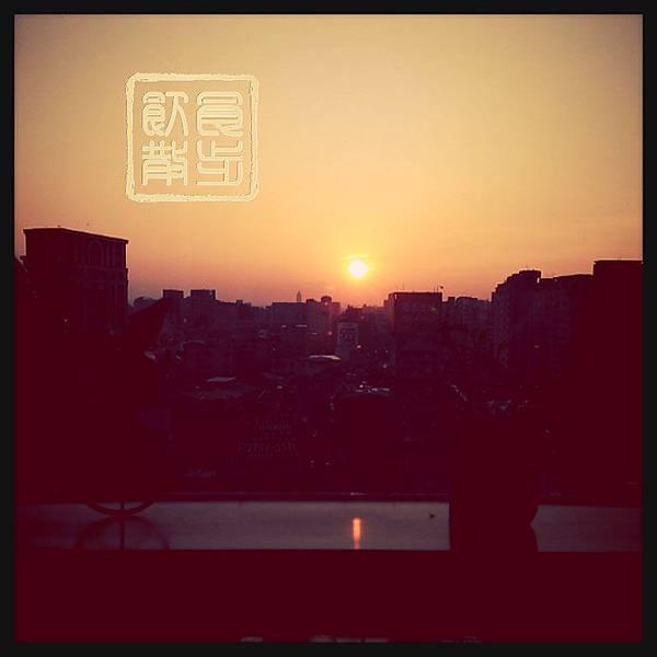 安靜的夕陽