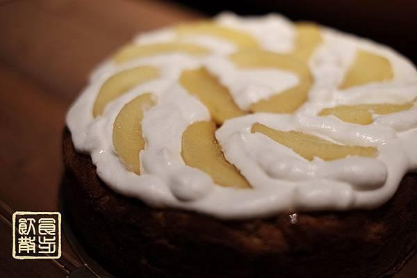 焦糖蘋果肉桂手製蛋糕
