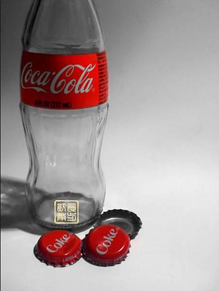 飲食散步的100卡路里可樂
