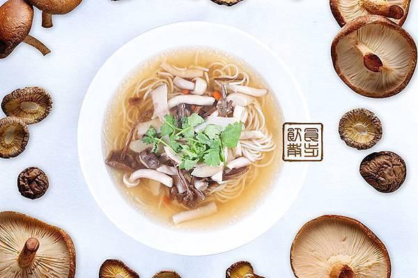 百菇湯面 (3)