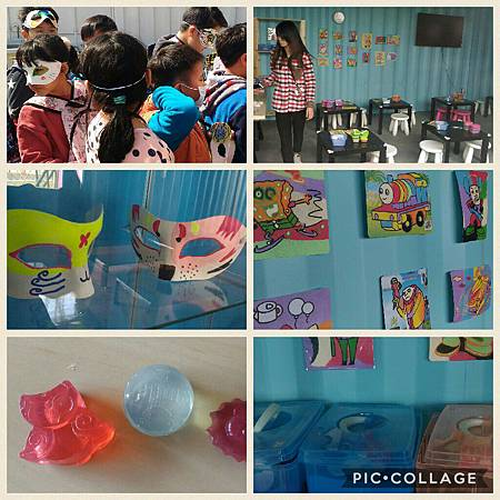 2017世界兒童手作藝術節 A威尼斯-彩繪面具、印第安-創意砂畫、阿拉伯-手工香皂