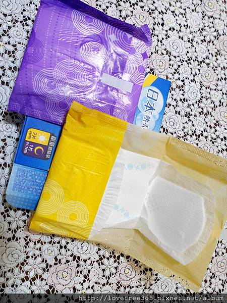 液體衛生棉 開箱