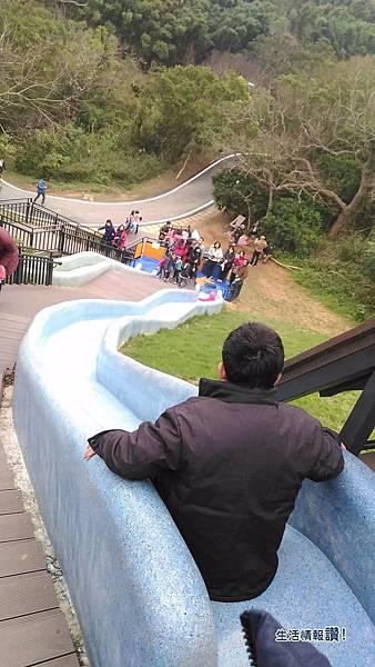 新竹 香山區-青青草原 藍色溜滑梯