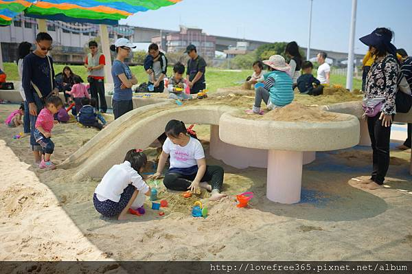 大佳河濱公園沙坑 沙桌