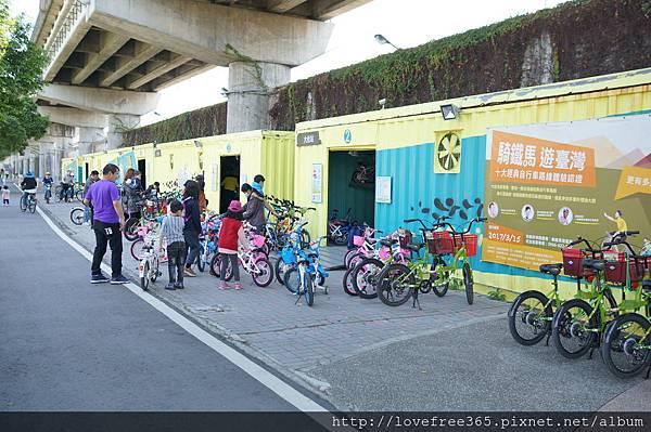 大佳河濱公園沙坑 大佳河濱公園沙坑 腳踏車租借服務