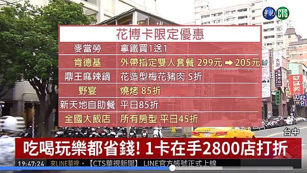 花博卡在手2800店打折,吃喝玩樂都省錢(華視新聞)