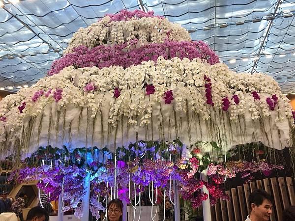 2018台中花博:「花舞館」是一個圓形的大展覽館
