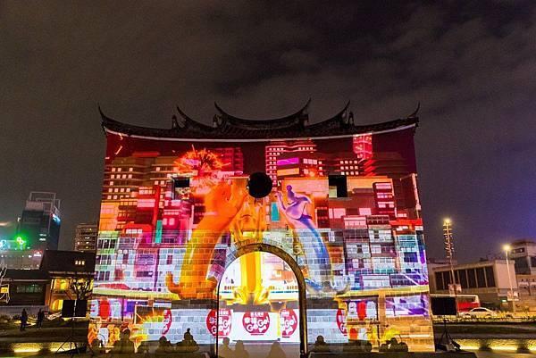 2019台北燈節-北門光雕,,台北花燈,台北燈會,台北元宵燈會