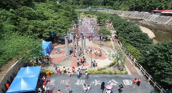 【基隆玩水景點(免費)】💦暖暖親水公園