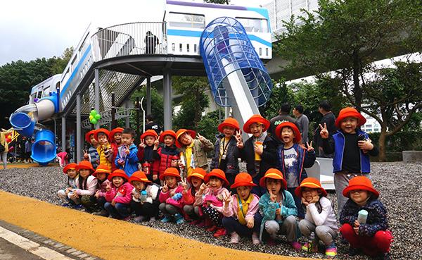 新北市特色公園:林口 樂活公園✪ 全台首座捷運主題 四米高滑梯遊戲場
