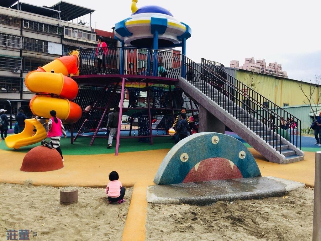 【樹林公園】飛碟來了👽東昇公園星際探險兒童遊戲場~3個小時玩不停