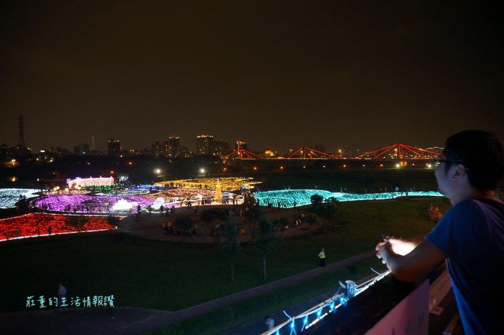 板橋蝴蝶公園夜景