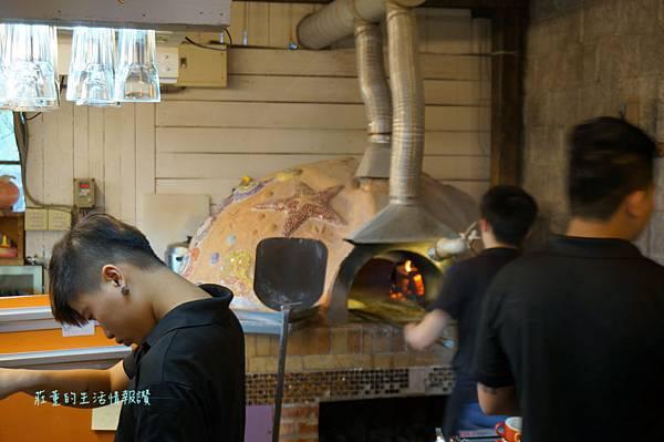木盒子柴燒窯烤披薩