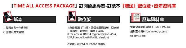 美國TIME時代雜誌 訂閱優惠:加贈《TIME》數位版& 免費瀏覽歷年資料庫