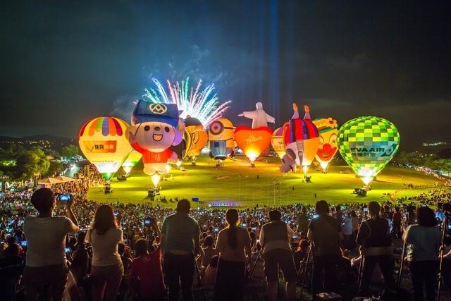 2019台東熱氣球,8場光雕音樂會