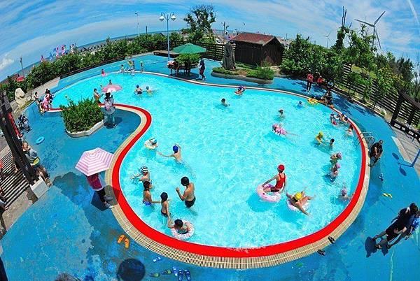 台中玩水景點(免費):大安濱海樂園